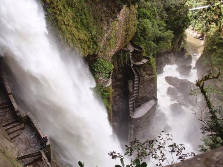 Cascata do Diabo, Equador