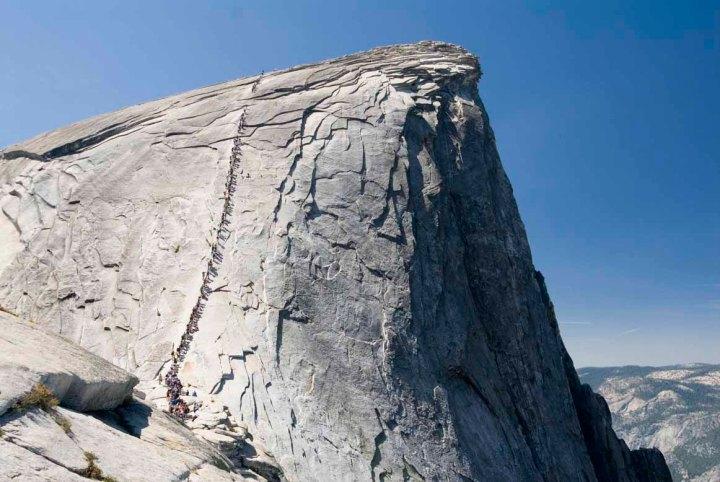 Half Dome, Parque Nacional de Yosemite, Califórnia, EUA