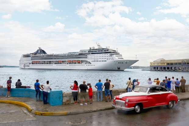 MSC Opera arrives in Havana for the first time for the Winter 2016-2017 season