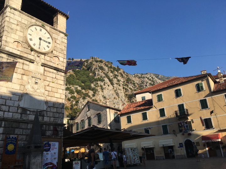 Kotor - Torre Relogio