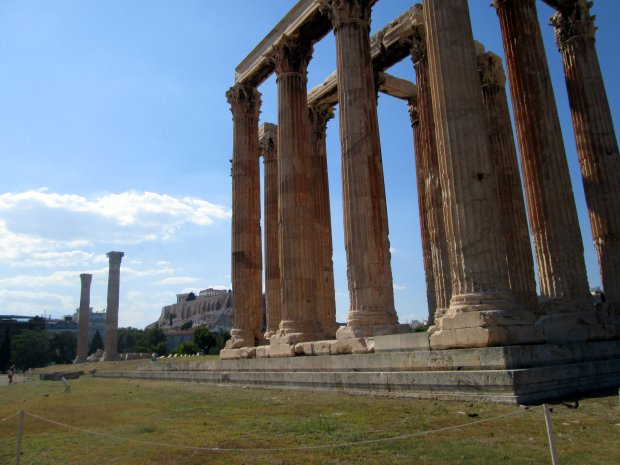 Athenas - Zeus Temple1
