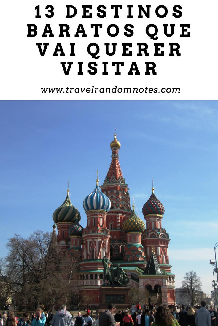 13 destinos baratos que vai querer visitar