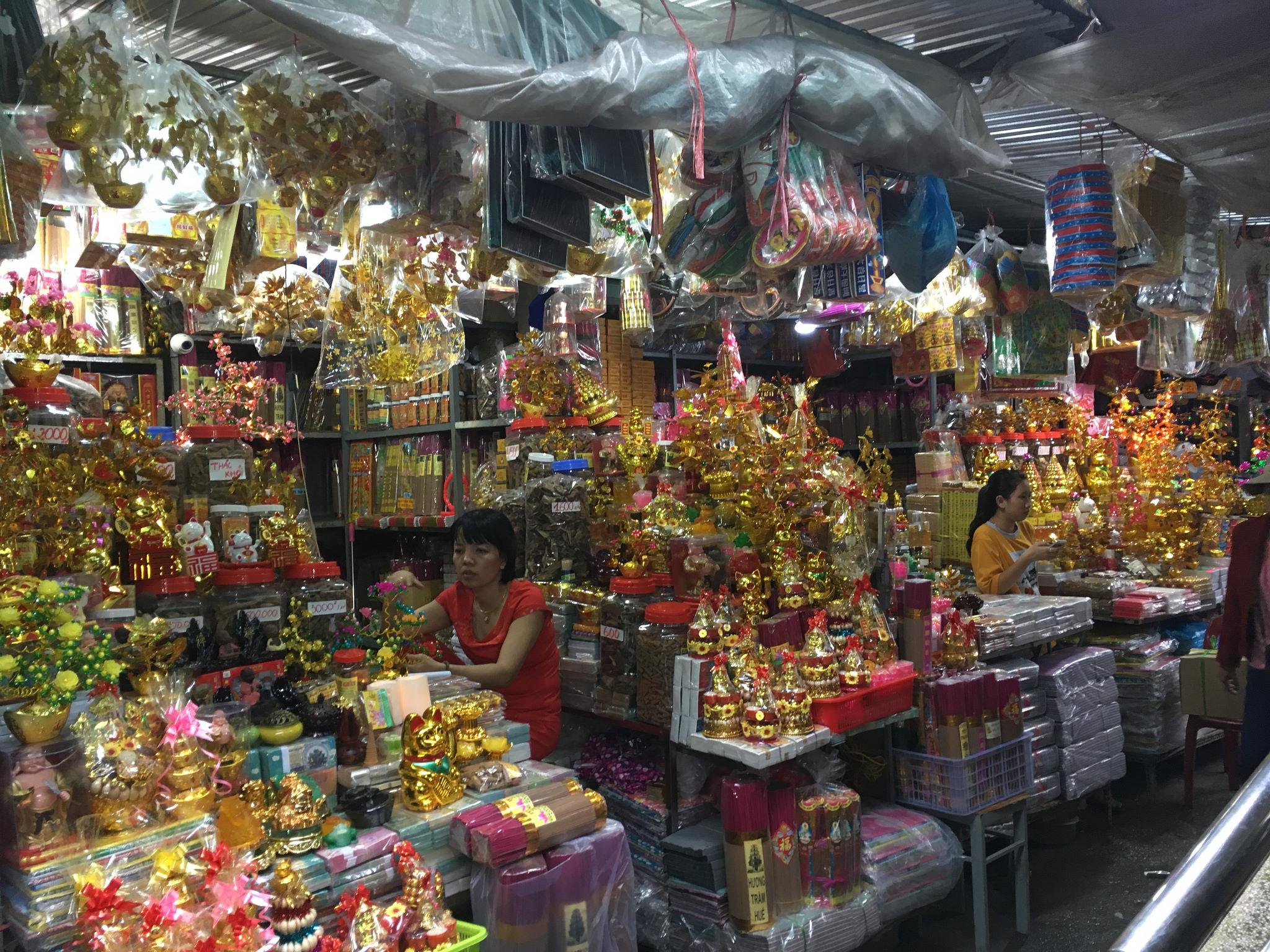 Hue - Mercado Dong Ba