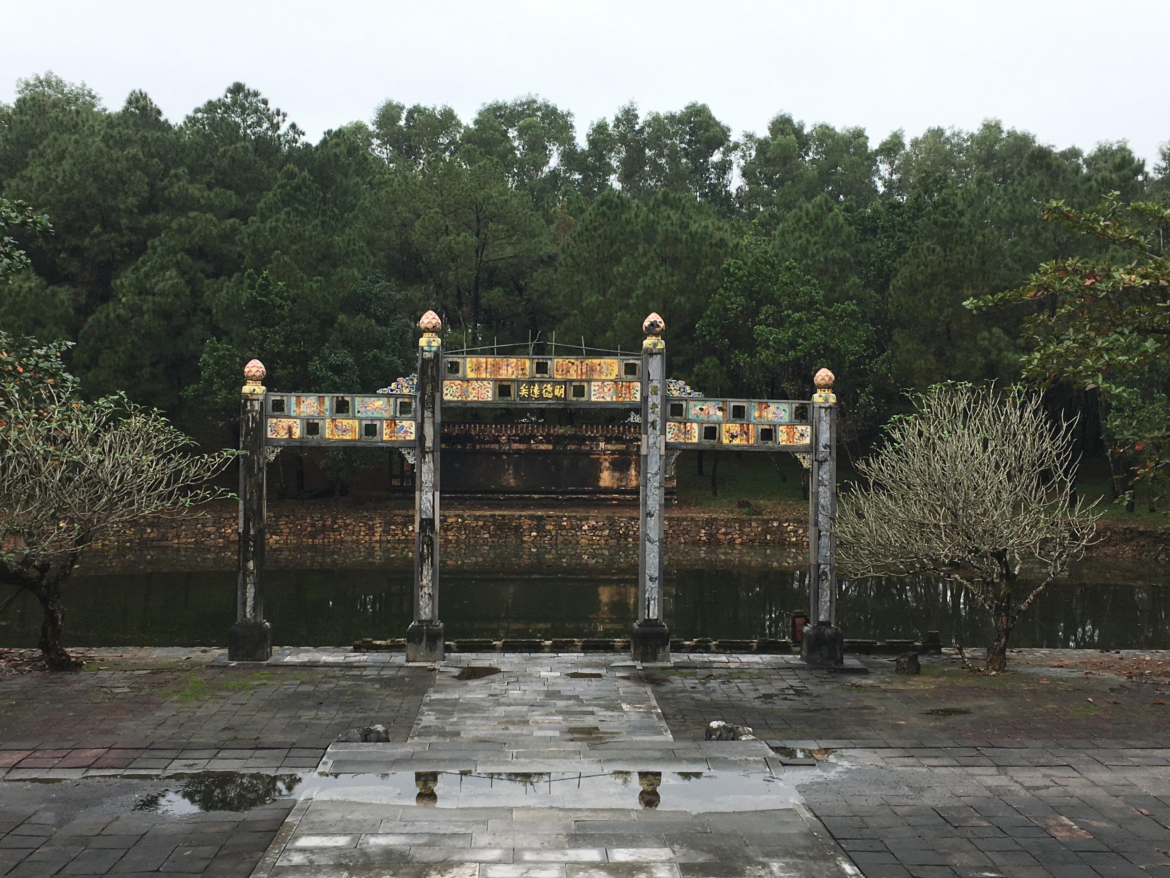 Hue - Thieu Tri Tomb1