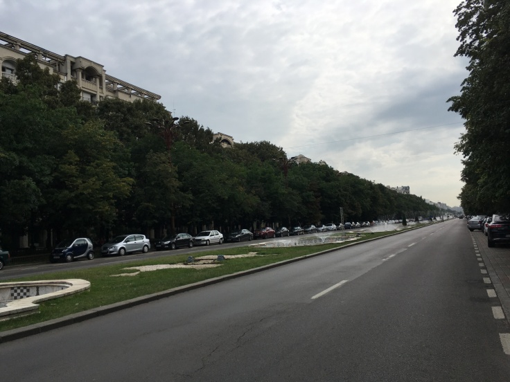 Bucharest boulevard