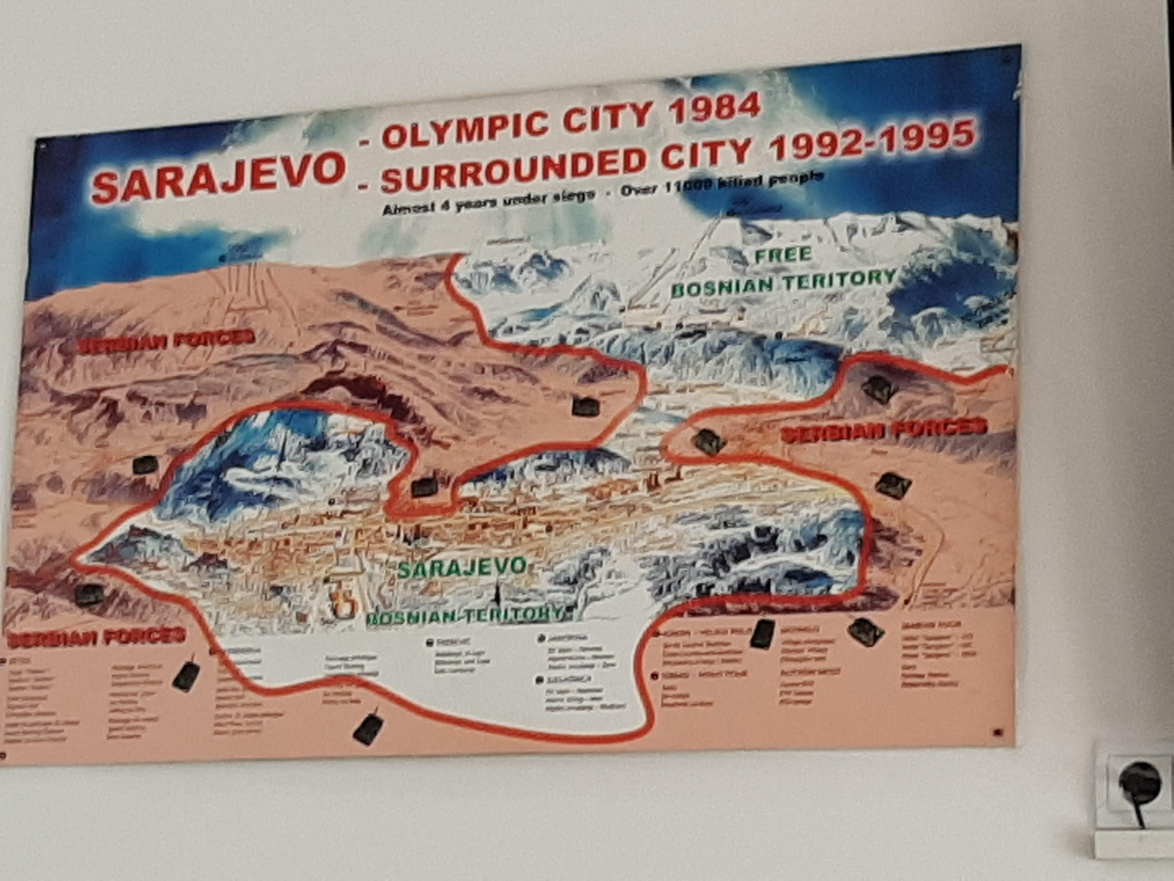 Sarajevo Map Siege